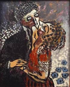 """Picabia, """"Le baiser"""""""