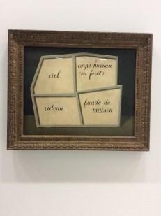 "Magritte, ""Le masque vide"", 1928"