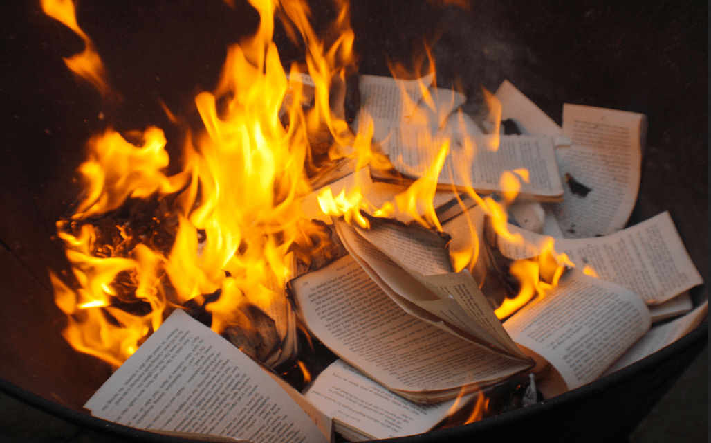 Image result for images of book burning
