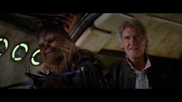 """""""Chewie, estamos em casa"""""""