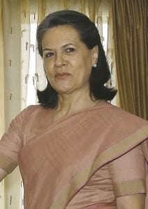 Portrait of Sonia Gandhi on June 5, 2007. Photo by Wikimedia Commonshttp://www.dnaindia.com/india/report-need-to-end-all-acts-of-violence-against-women-sonia-gandhi-1882382