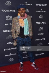 Chef Marcus Samuelsson attends the 2015 Food and Wine Best New Chef party