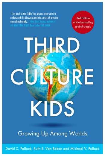 Labeled for reuse. Third Culture Kids book, Ruth Van Reken, David Pollock, Michael Pollock, mental health, cover