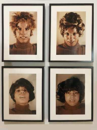 Ana Mendieta and Facial Cosmetics Variations
