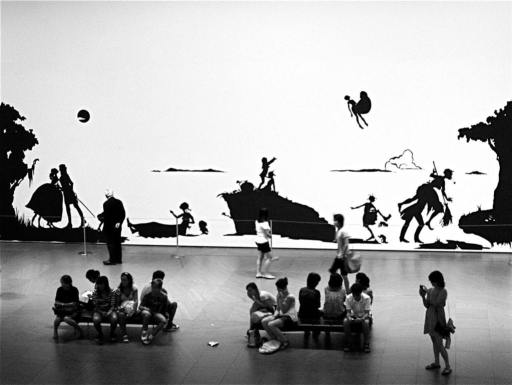 Kara Walker, Gone, Gone: An Historical Romance of a Civil War as it Occurred b'tween the Dusky Thighs of One Young Negress and Her Heart