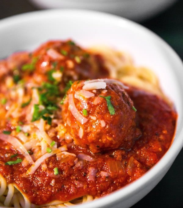 Should we be crediting Italian immigrants to the U.S. with creating spaghetti and meatballs?