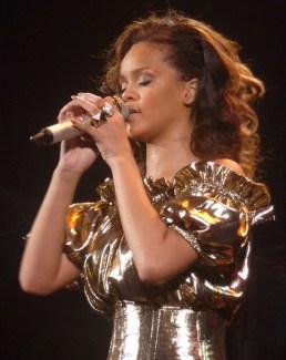 Rihanna a son concert a paris bercy.