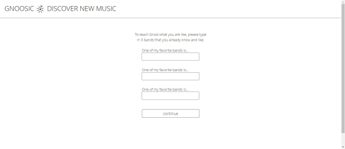 Gnoosic 發掘新音樂 圖1
