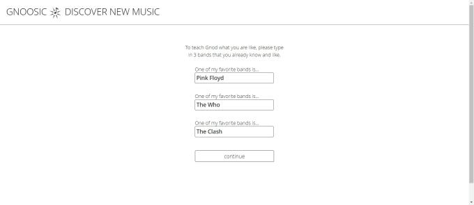 Gnoosic 發掘新音樂 圖2