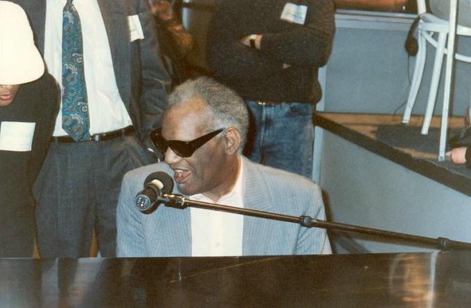 Ray Charles Georgia On My Mind// Alan Light 1990 at Flckr