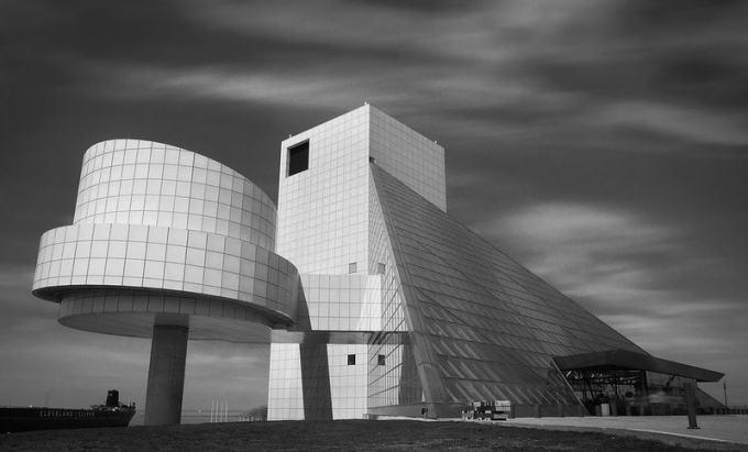 搖滾名人堂 (Rock & Roll Hall of Fame) 地標