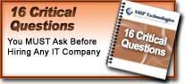 16 Critical Questions
