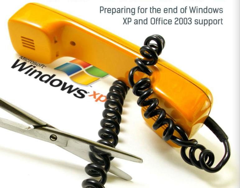 No More Support for Windows XP and Office 2003