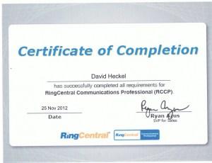 RCCP Certification