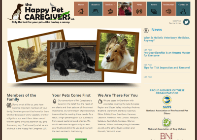 The Happy Pet Caregivers