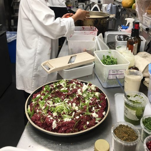 Beetroot salad NOPI