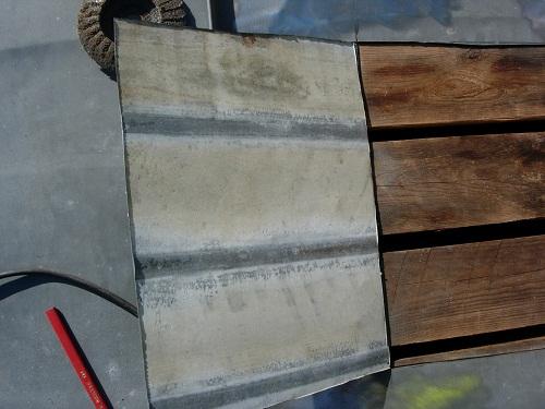 chapa y madera después de 17 años