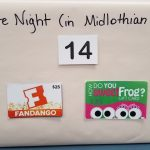 includes $25 Fandango gift card (for purchasing movie tickets) and $30 in Sweet Frog gift cards (there is still one in Midlothian!) - Retail Value $55