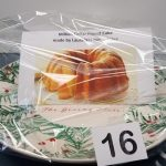 Million Dollar Pound Cake (baked by Lauraetta Jones-Yates) on a ceramic Giving Plate - Retail Value - priceless!