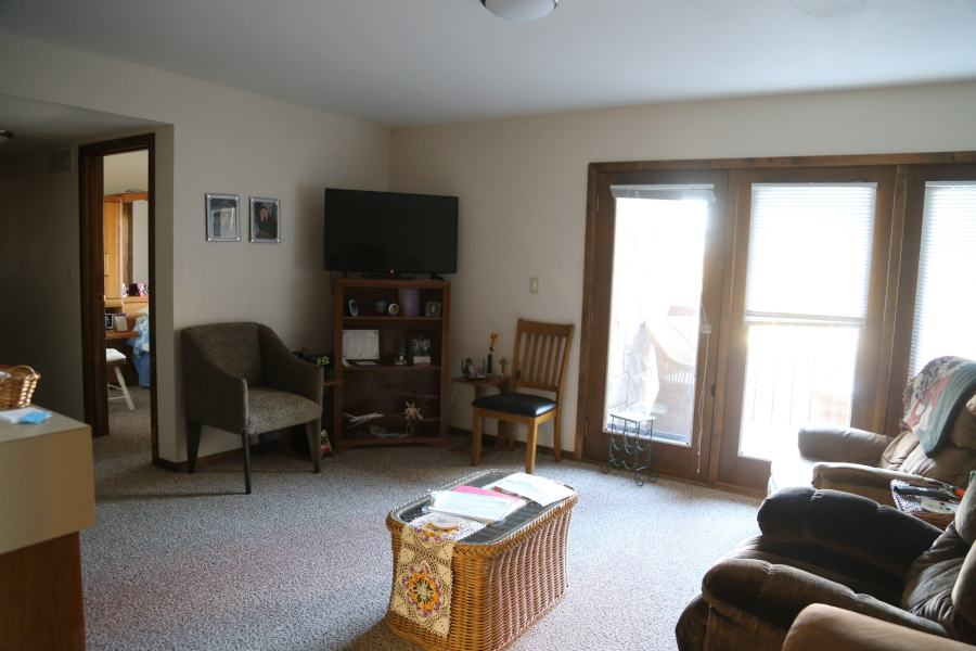 Living Room of 2 Br Apt