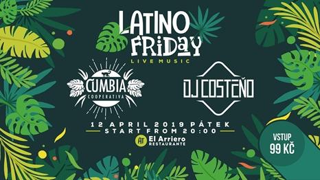 El Arriero Latino Friday Cumbia Cooperativa
