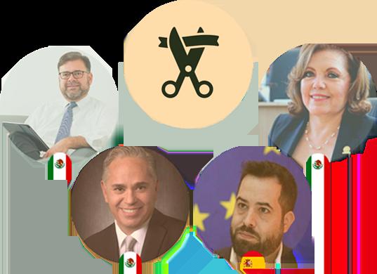 Inauguración - Cumbre Internacional Legislativa Guanajuato 21 - Congreso del Estado de Guanajuato, Instituto Mejores Gobernantes, Red Gobierno