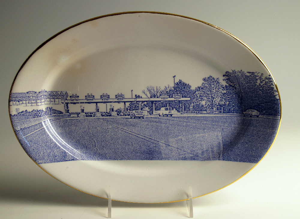 Scott's Cumbrian Blue(s) American Scenery (New Jersey) Turnpike No:4