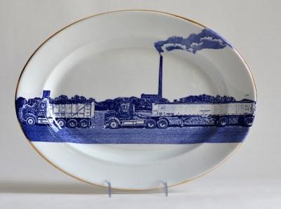 Scott's Cumbrian Blue(s), American Scenery, Residual Waste No: 2
