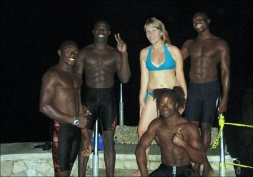 Jamaican White Wife Interracial Sex - Interracial Wife Vacation Jamaica