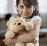 Child with Stuffed toy