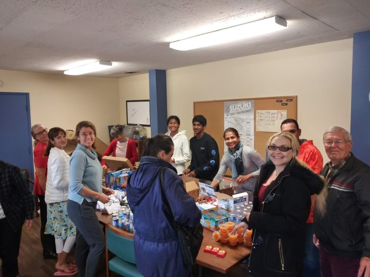 Packing Food -  Change the World