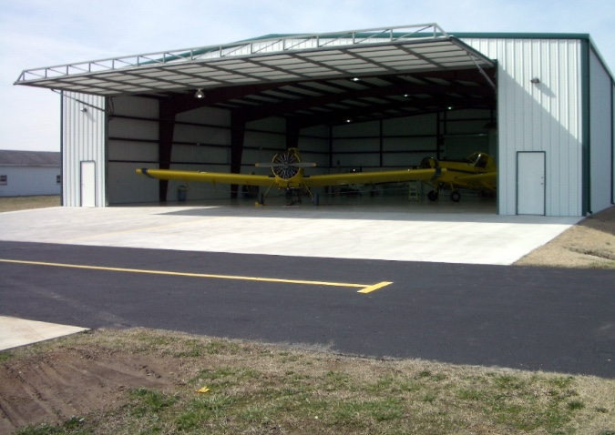 Aviation/Hangar Metal Buildings