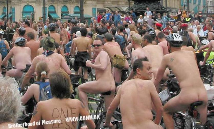 1988 Greatest number of participants, 31,678 on a bicycle naked London wnbr