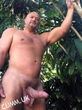 naked old men with huge cocks Gallery erect forest