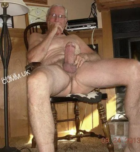 old man big cock extremely thick grandad wanker