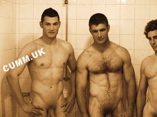 rugby club open showers nude players