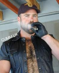hairy chest leather-men-naked-muscle-hung-furry-hairy-beard-bald-shirtless-bondage-roped-gay-bdsm-hood-hand-cuffs-pierced-prince-albert-harness-pa-01-03-012