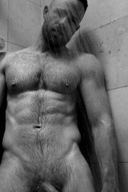 Aaron Lee Smith naked shower