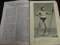 Health and Strength vintage muscle beefcake 1948