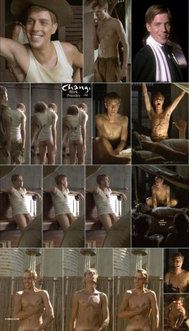 Mark Priestly fully nude