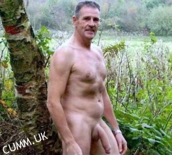 Soft Cock Massage hung silver daddy