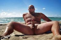 big fat beach cock