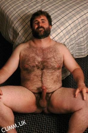 big hairy chested bear