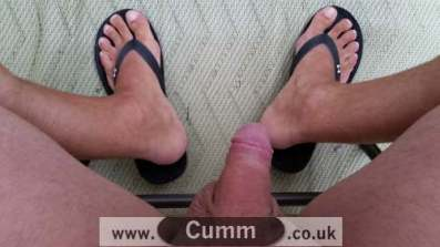 cock and feet male