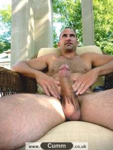 cock dialogues being-naked-outdoors-excites-him