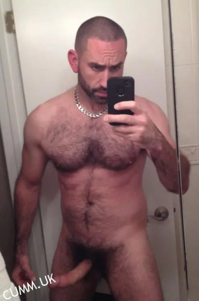 cock selfie naked your bear cub