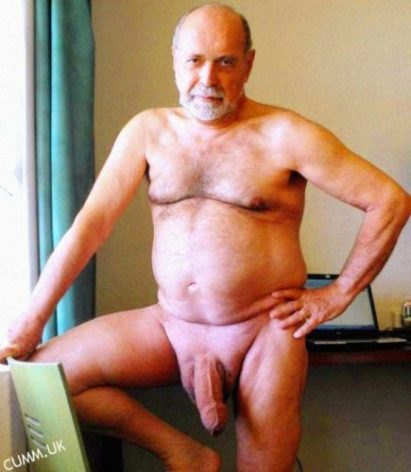 very proud of his dick!