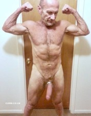 grandad in cock ring