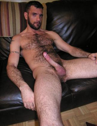 hairy chest erection