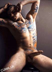 inked rugby lad